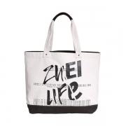 ZUEI 摩尔街头帆布包休闲帆布单肩包 送女孩子的礼品