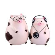 创意小猪无线蓝牙音箱 便携桌面小音响 公司生日礼物