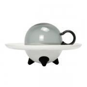 【UFO飞碟杯 】创意茶杯碟礼盒套装 办公咖啡杯 纪念礼品定做