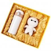 商务保温杯+大白音响两件套套装 适合年会的小礼品