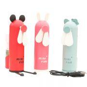 创意卡通造型喷雾风扇 手持冷风USB小风扇 精致实用礼品