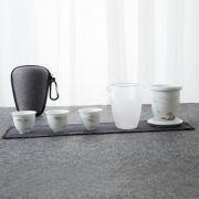 【茶行天下】创意便捷旅行六件套茶具套装 比较实用的小礼品