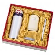 保温杯+多功能加湿器+U盘+签字笔四件套礼盒装 年会创意伴手礼