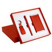 皮革充电宝+皮具U盘+签字笔 高端创意商务礼品套装礼盒 精致创意小礼品