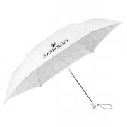 施华洛世奇(SWAROVSKI) 速干雨伞(白色) 匠心设计 轻巧便携 商务宴会礼品