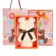 【洁丽雅】小熊毛巾单条礼盒装 纯棉毛巾亲肤柔软不掉色 小礼品创意