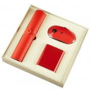【鼠你好看】鼠标垫+鼠标+充电宝商务三件套 公司纪念礼品
