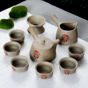 粗陶瓷套装茶具 创意京剧套杯功夫茶茶具套装 做活动送什么小礼品