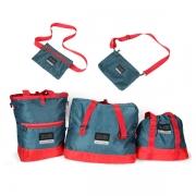 ZUEI 美时美刻出行购物包旅行包双肩包五件套 商场活动礼品