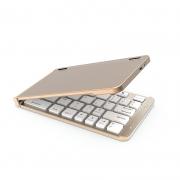 商务铝合金蓝牙折叠键盘 出差旅行手机办公 员工福利礼品