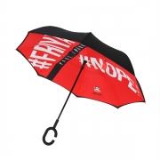 【大嘴猴】Paul Frank 荷叶式拒水反向防晒雨伞 送什么礼品
