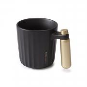 星空杯 金属把手马克杯 泡茶咖啡杯
