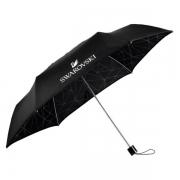 施华洛世奇(SWAROVSKI) 速干雨伞(黑色) 匠心设计 轻巧便携 送客户礼品推荐