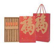 【若生活】五福筷 鸡翅木筷家庭套装 公司一般送什么小礼品