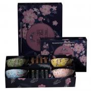 【邂·逅】日式陶瓷餐具樱雪碗筷套装 羽毛球比赛奖品