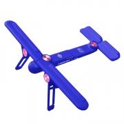 追梦者飞机笔记本支架 桌面升降增高便携折叠通用铝合金支架托