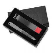 黑色不锈钢指甲钳修剪指甲刀工具礼盒套装 活动小礼品