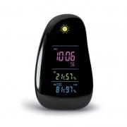 小巧创意闹钟 多功能天气时钟智能彩色气象钟 实用创意小礼品