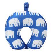 【小象】卡通印花U型枕 泡沫粒子颈枕 超柔舒适护颈枕 开园活动礼品