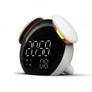 天气预报时光灯闹钟 创意儿童智能感应充电闹钟 便宜创意礼品