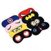 卡通造型眼罩超囧表情色彩鲜艳 多款造型 不含冰袋 扫码小礼品