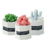 【仙人掌】创意多肉植物香皂 办公室家居DIY摆件 diy创意小礼品