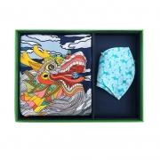 高端端午节礼品活动礼物100%桑蚕丝丝巾+真丝口罩 端午节送客户什么礼品