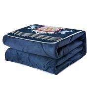 宝宝绒两用抱枕被靠垫加厚小薄被数码印花多功能汽车午休被可定制