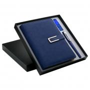A5记事本+16gU盘+签字笔三件套套装 适合年会的小礼品