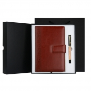 中国风复古笔记本+签字笔套装 50元小礼品