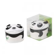 熊猫小方巾单条装 二十一支双股纯棉毛巾 校园活动礼品