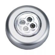 圆形便携式应急4LED触摸灯 精致实用礼品