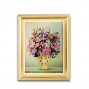 珍藏四季平安·有钱花装饰壁画 随心更换四时花景 高端礼品送什么