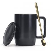 马克陶瓷办公个性咖啡杯 商务定制杯子小礼品