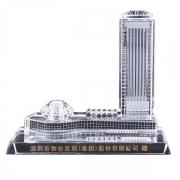 【来图定制】水晶模型设计定制 建筑模型 周年定制纪念品