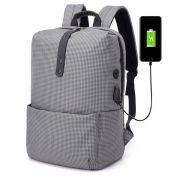 双肩背包英伦格子电脑背包户外旅行包 最受欢迎小礼品