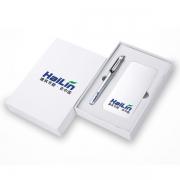 移动电源+签字笔两件套装 最受欢迎小礼品