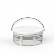 创意台灯双喷加湿器 1.2L大容量 双出雾口小夜灯 最受欢迎小礼品