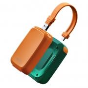 伴侣充电宝超薄小巧大容量快充 自带线PD快充带插头充电器 办公用品礼品