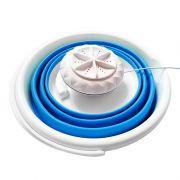 超声波涡轮洗衣器 旅行便携迷你洗衣机折叠桶 商务礼品送什么