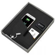 多功能手机收纳电源8000毫安记事本 客户拜访礼品