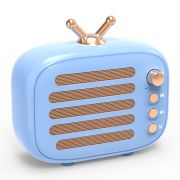 复古便携式手机低音炮音响 怀旧迷你蓝牙音箱带收音 送什么礼品好