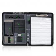 多功能无线充电8000毫安A4文件经理夹 送客户什么礼品好