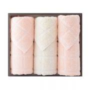 【洁丽雅】面巾三件套套装 全棉优品-4 活动赠送小礼品
