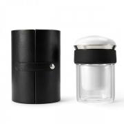 【高级PU盒】 易杯休闲茶具 高鹏硅玻璃防烫杯 大气礼品送什么