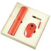 【鼠你好看】鼠标垫+鼠标+充电宝商务三件套 年会创意礼品