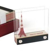 【日本东京塔】3D立体便签本 东京铁塔模型便签 创意纸雕礼品