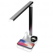 4合1多功能无线充 适用于苹果iwatch手表 无线耳机无线充台灯 活动奖品买什么好