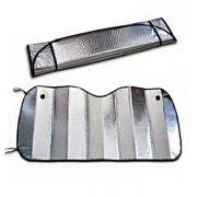 汽车双面遮阳挡130*60cm  反光隔热铝箔气泡材质 保险公司小礼品
