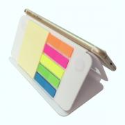 多功能可折叠手机座便签本 手机支架便利贴 便携礼品定制
